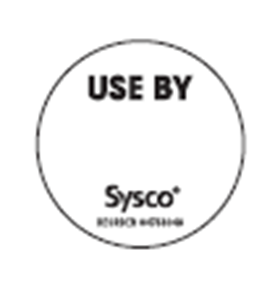 2 Dissolvable Sysco Label ESF