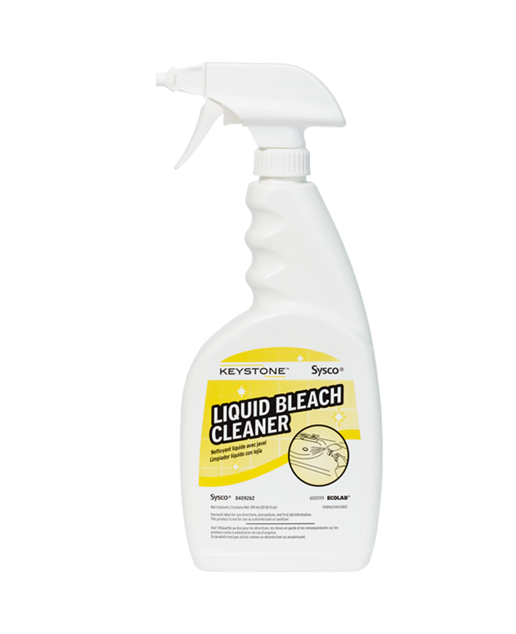 Keystone Liquid Bleach Cleaner