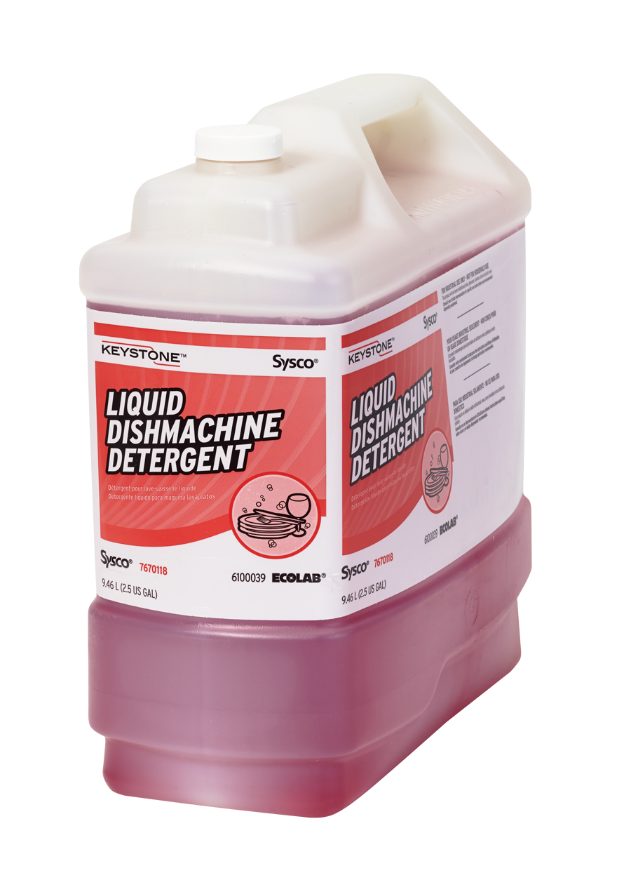 Keystone Liquid Dishmachine Detergent