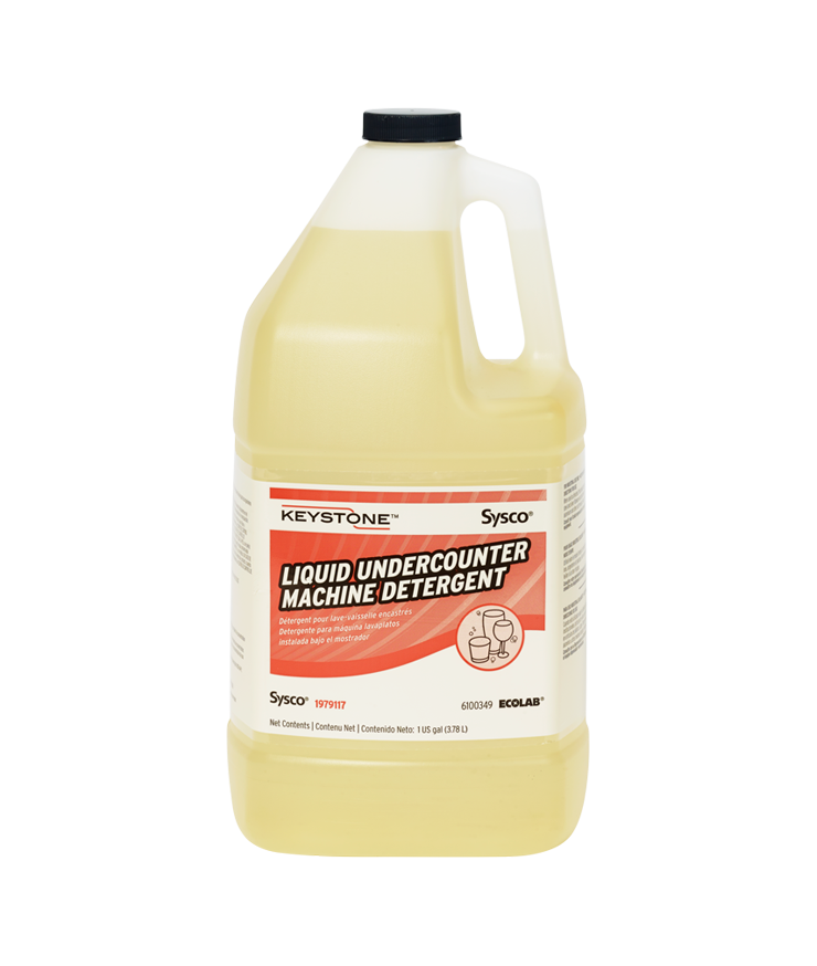 Keystone Liquid Undercounter Machine Detergent