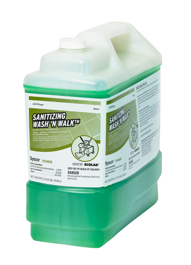 Keystone Sanitizing Wash n Walk