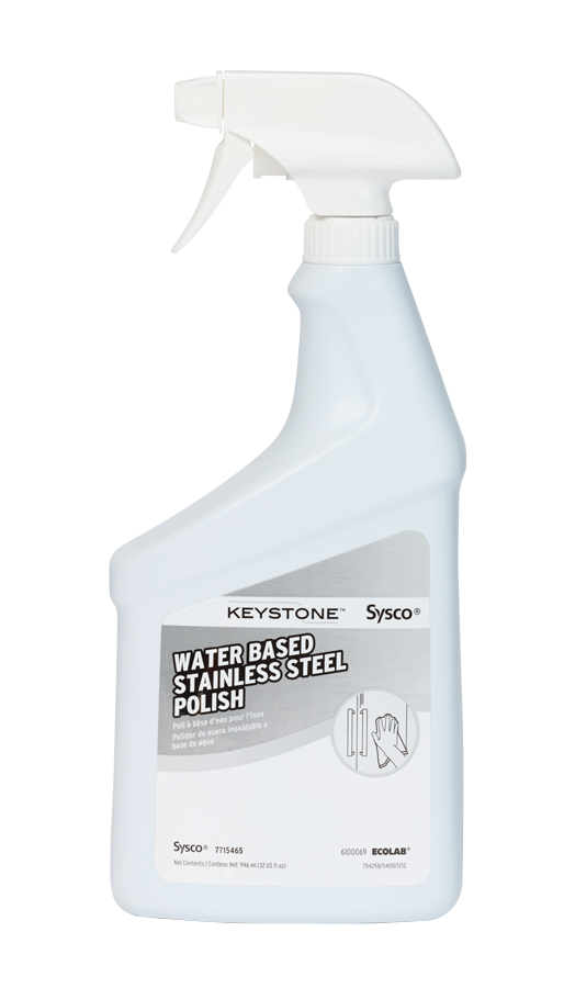 Keystone Water Based Stainless Steel Polish