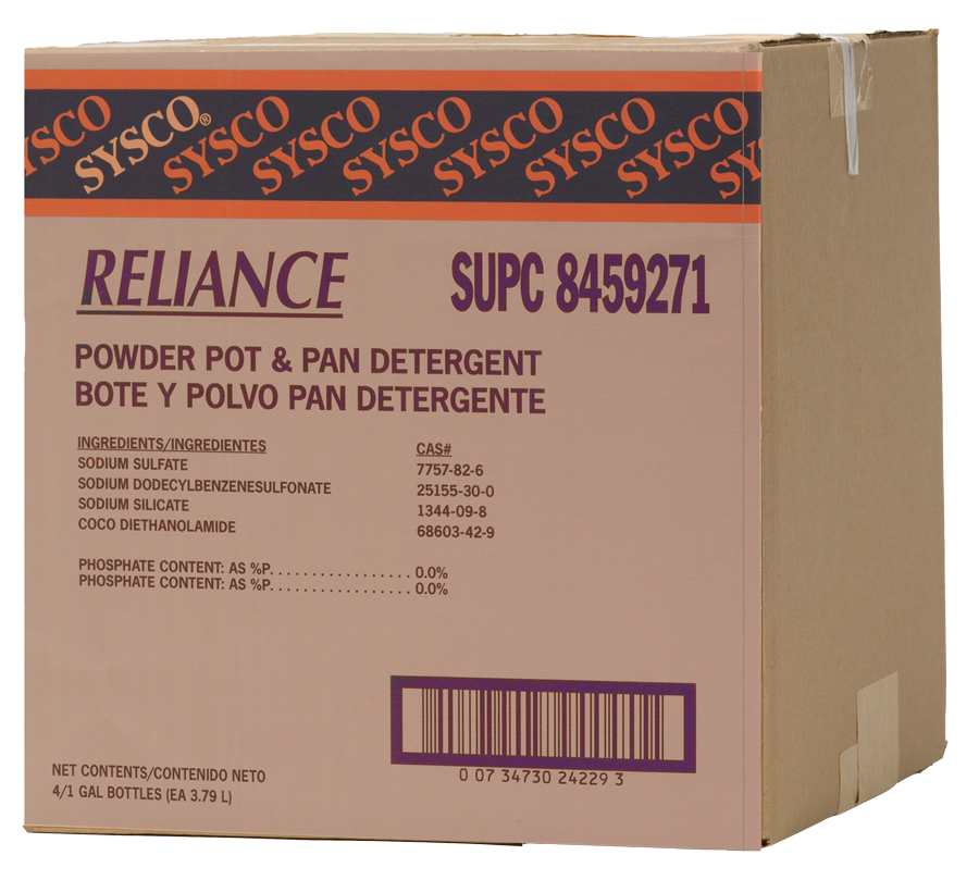 Reliance Powder Pot and Pan Detergent
